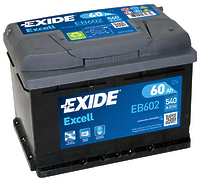 Exide Excell EB602 60Ah