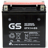 GS GTX14-BS AGM 12Ah