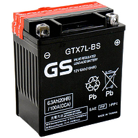 GS GTX7L-BS AGM 6Ah